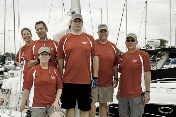 Cyclone Crew Prior to Start of 2011 Chicago-to-Mackinac Race
